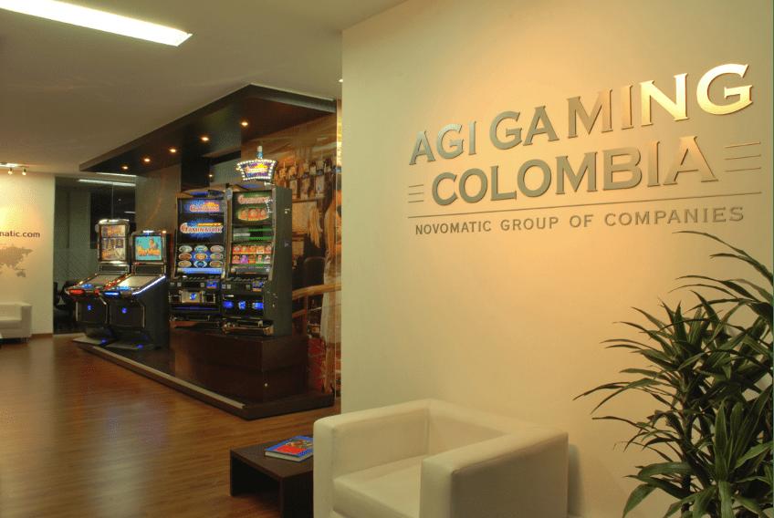 Novomatic, oficinas en Colombia