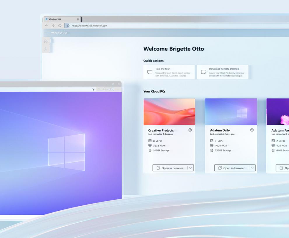 Windows 365, la nueva experiencia en el uso de Windows